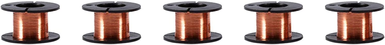 Heaveant Miami Mall Enameled Wire 5pcs Fashion Copper 0.1mm W Winding