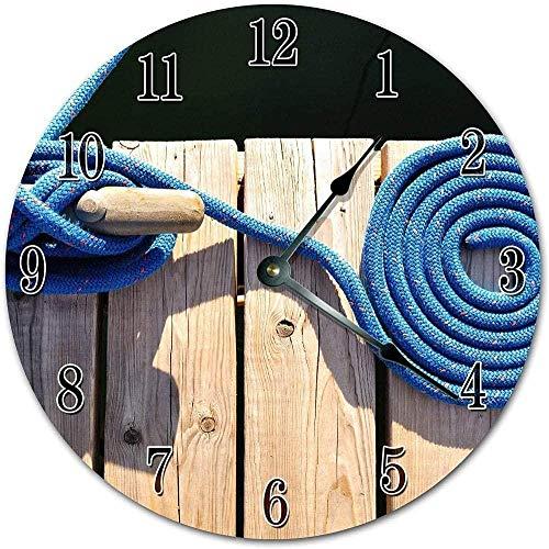 Reloj grande Reloj de pared grande Reloj de cocina Reloj de cuerda de acoplamiento giratorio Reloj de sala de estar Reloj de pared grande para oficina Escuela Hogar Sala de estar Cocina Dormitorio Rel