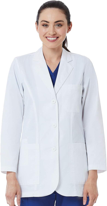 Maevn Same day shipping RED Panda Ladies Ranking TOP10 Consultation White Coat