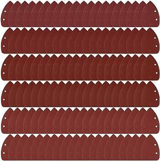Coceca 120pcs Mouse Detail Sander Sandpaper Sanding Paper Each 20pcs of 40 60 80 120 180..
