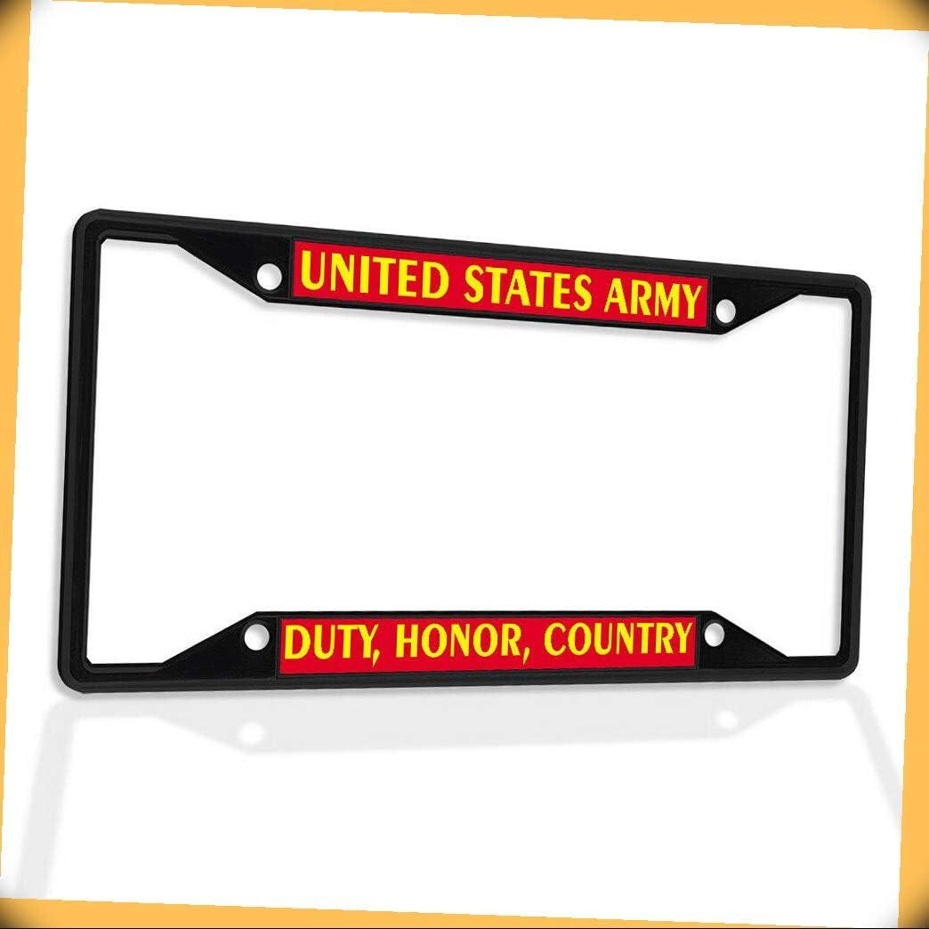 New mail order New Metal Aluminum Gorgeous Alloy Black B4K Frame Un Plate Insert License