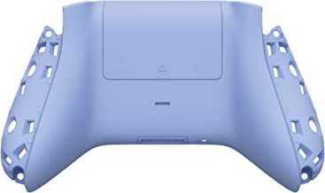 eXtremeRate Light Violet Soft Touch Custom Bottom Shell w/Battery Cover for Xbox Series S/X Controller - Controller & Side...
