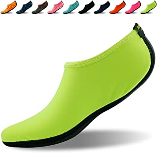 Forfoot Water Socks, Unisex Water Skin Shoes Low Top Diving Snorkeling Neoprene Beach Socks Scuba Dive Snorkel Socks Volleyball Soccer Shoes for Water Sports Yoga