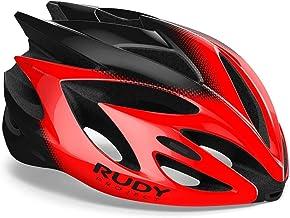 Rudy Project Rush Helmet rood/zwart Shiny 2020 Fietshelm