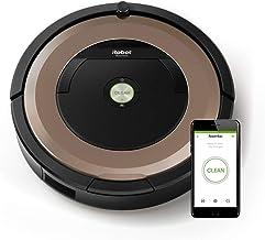 iRobot Roomba 895 - Robot Aspirador Óptimo para Mascotas, Succión 5 Veces Superior, Cepillos de Goma Antienredos, Dirt Detect, Suelos Duros y Alfombras, Wifi, Programable por App, compatible con Alexa