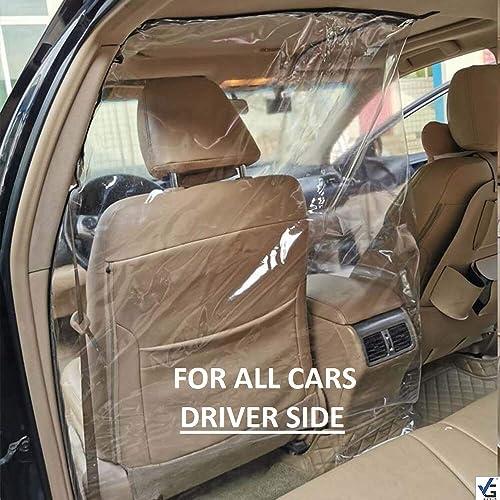VG DENIM Acrylic polymer Car Safe Protector Divider Film For Cars Pack of 1