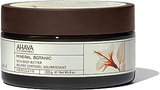 AHAVA Mineral Botanic Body Butter, Hibiscus & Fig, 235g