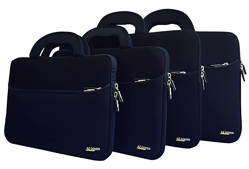 AZ-Cover 15.6-Inch Laptop Sleeve Case Bag (Black) With Handle For Lenovo ThinkPad Edge E550 20DF002YUS/20DF0030US/20DF003WUS/20DF0040US 15.6-Inch Laptop Black