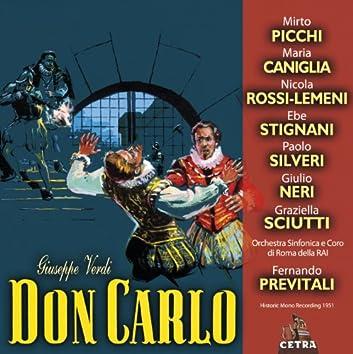 Cetra Verdi Collection: Don Carlo