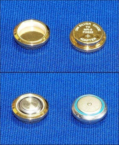 MR-9 Battery Adapter for Film Camera & Exposure Meter / Mercury MR9 PX625 PX13