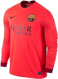 Nike Barcelona Long Sleeve Away Jersey 2014-2015
