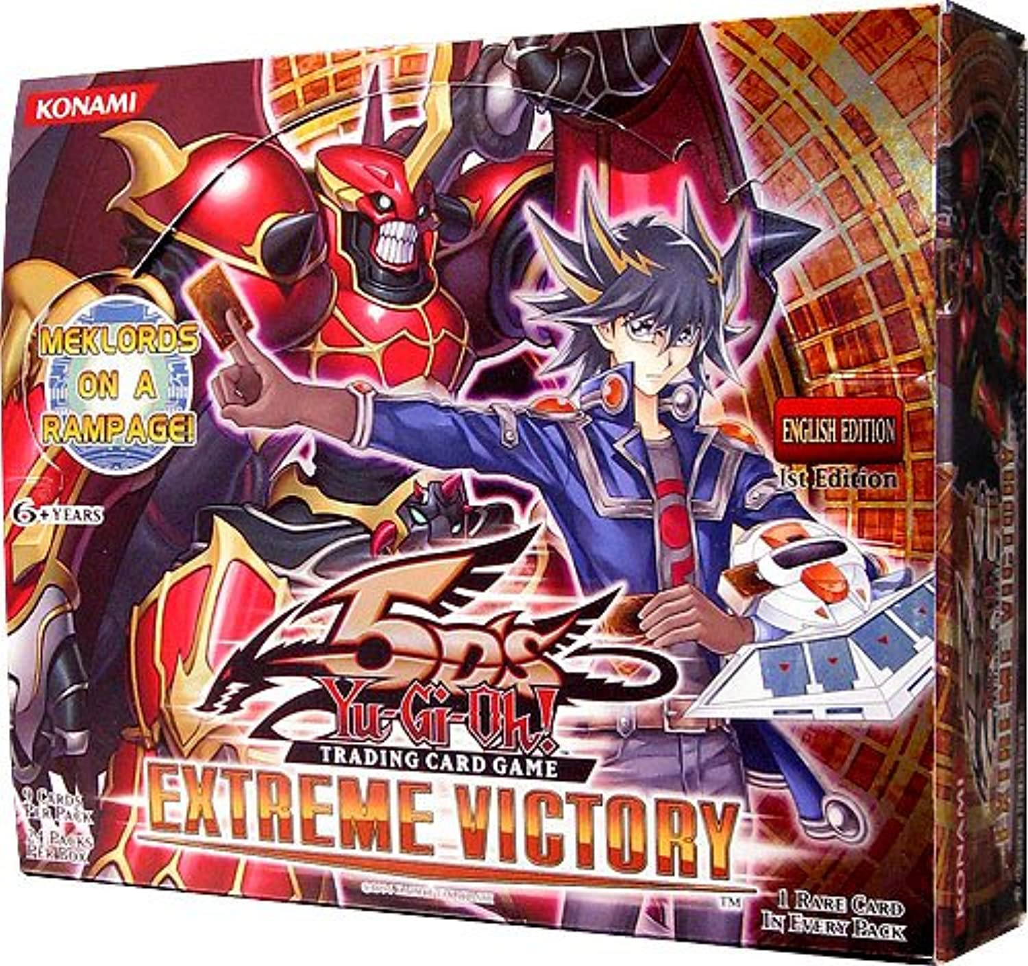 YuGiOh 5Ds Extreme Victory Booster Box 24 Packs [Toy] B004Z2OHUS Preiszugeständnisse | Moderne Muster
