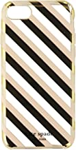 Kate Spade New York Protective Hardshell Case for iPhone 7 - Diagonal Stripe Blush