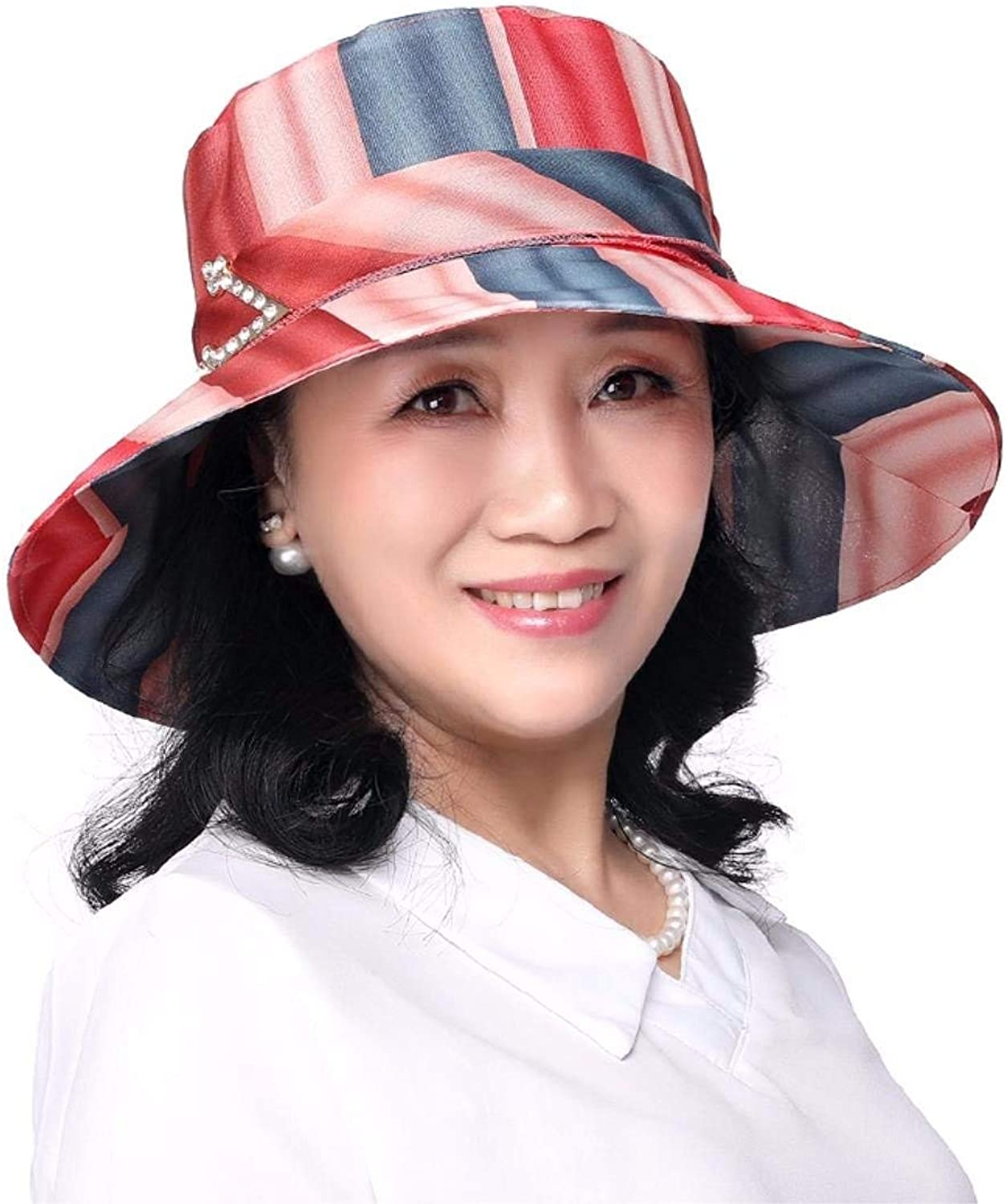 Dianye Gift for Mom Gift for grandmother Bonnet Hat summerutumn hat middleaged hatloth hateach Hat travel hat outdoor hat
