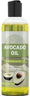 Sponsored Ad - Avocado Oil (16 fl oz), 100% Pure & Natural, Nutrient & Vitamin-Rich Moisturizing Oil for Healthier Hair, N...