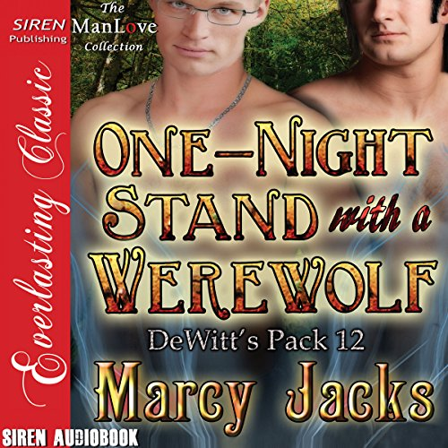 One-Night Stand with a Werewolf audiobook cover art