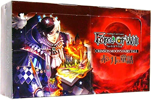 Force of Will - Grimm Cluster Set 1 - Crimson Moon's Fairy Tale Booster Box