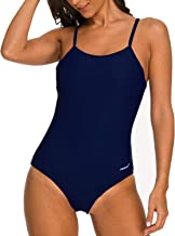 Coskaka Womens one Piece Swimwear Swimsuits Athletic Training Bathing Suits for Women