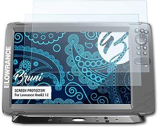 Bruni 2x Proteggi Schermo per Lowrance HDS Live 7 Pellicola Protettiva