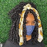 ZRQ Butterfly Locs Crochet Hair Short 6 Packs Black Crochet Bob Hair 12 Inch Messy Distressed Faux Locs Crochet Braids Pre-twisted Soft Locs Hair for Women #1B