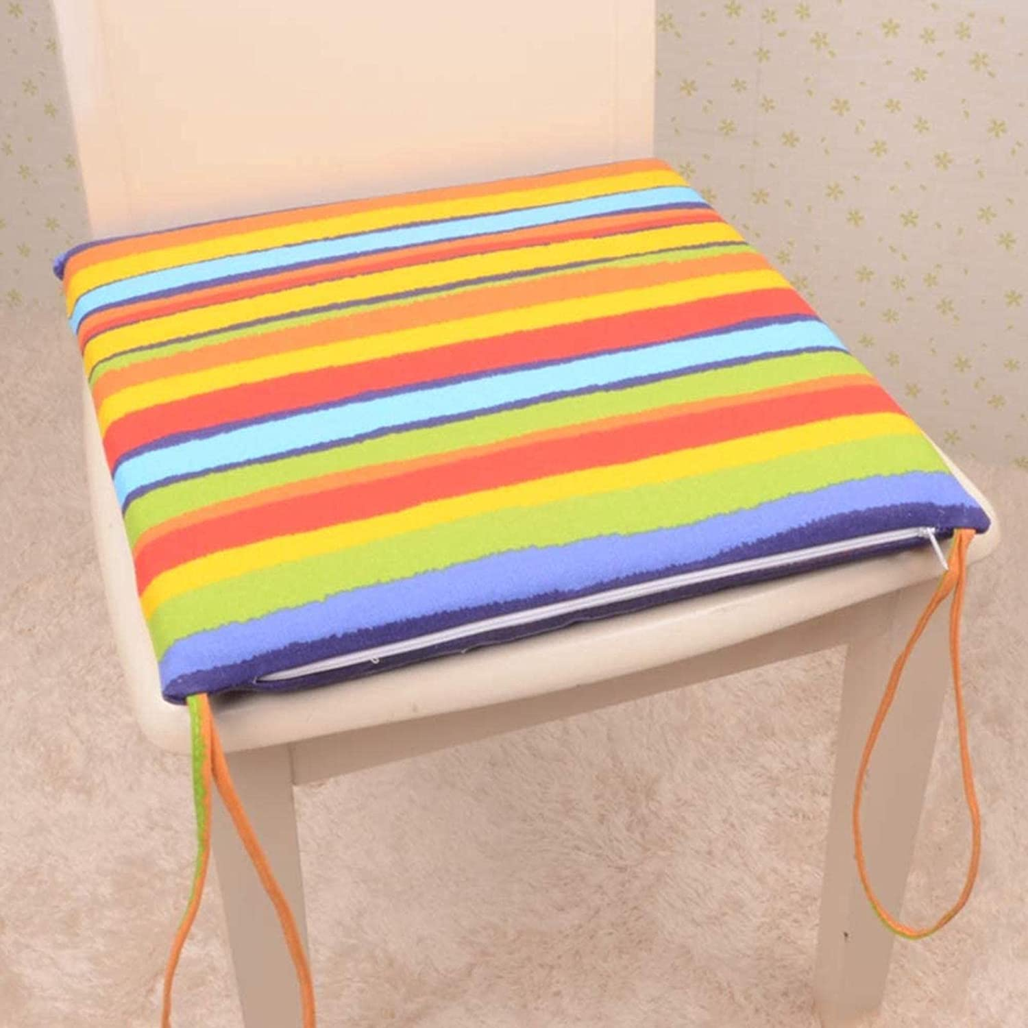 HZYDD Stripe Not-Slip Chair Pads Portable Sale SALE% OFF Cushio Soft Long Beach Mall Cozy Seat