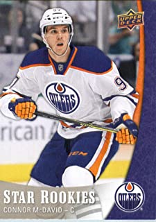 upper deck star rookies connor mcdavid