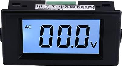 Yeeco AC 0-199.9V LCD Display Digital Voltmeter Voltage Meter Volt Testing Gauge Voltage Measuing Volt Panel Meter