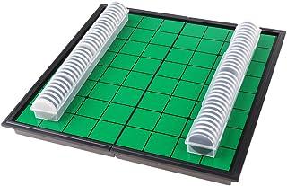 MagiDeal Magnetic Portable Folding Reversi Othello Board Chess Standard Educational Home Parent-Children Family Game