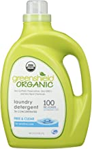 GreenShield Organic USDA Certified Organic Laundry Detergent, Free and Clear, 100 Ounce