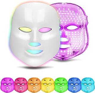 obqo LED gezichtsmasker lichttherapie huid revitalisering 7 kleuren anti acne lichttherapie schoonheidsmasker