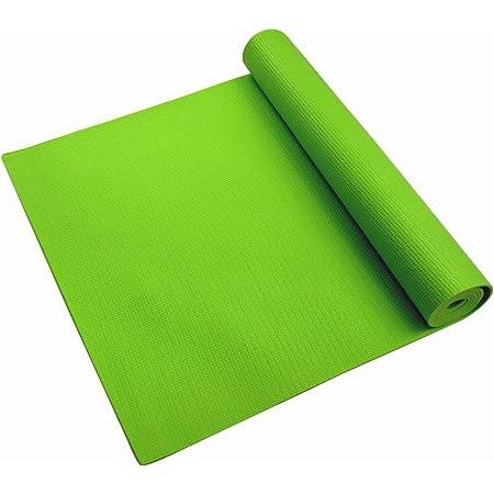 Living Green 3000 Tapete de Yoga, color Verde, 3 mm
