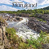 Maryland Wild & Scenic 2020 12 x 12 Inch Monthly Square Wall Calendar, USA United States of America Southeast State Nature (English, French and Spanish Edition)