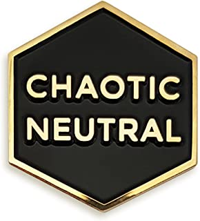 Pinsanity Chaotic Neutral Enamel Lapel Pin
