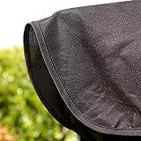 Kingfisher 2-Sitzer Hollywoodschaukel mit Dach (Einheitsgröße) (Schwarz) - 8