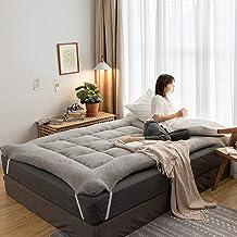 Sleeping Tatami Floor Mat,Thick Futon Mattress for Single Double,Foldable Futon Tatami Mattress,Roll Up Mattress,Tatami Ma...