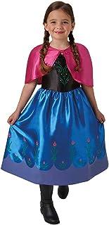 Frozen -  Disfraz de Anna classic para niña, infantil talla 3-4 años (Rubie's 620977-S)