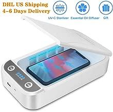 Sweego Smart Phone Sanitizer, UV Phone Sterilizer Box, Aromatherapy Function Disinfector,...