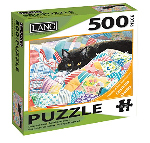 "Jigsaw Puzzle 500 Pieces 24""X18""-Grandma's Quilt"