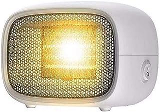 BOJK Portátil Calefactor Eléctrico Ventilador Calentador 500W Suministro De Aire De Gran Angular Protección contra Sobrecalentamiento Silencioso Ahorro De Energía