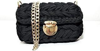 حقيبة للنساء-اسود - حقائب الكتف