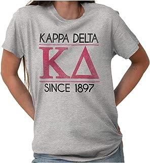 Kappa Delta Since 1897 Sorority College KD T Shirt Tee