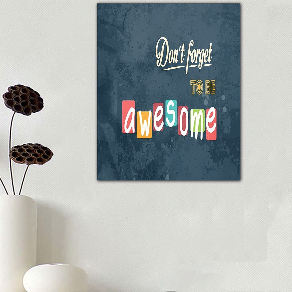 Limited time cheap sale Jatansa Motivational New item Mural Canvas Inspirational Wall Decal Art
