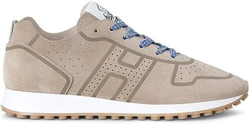 Hogan H429 - Hauszapatos Zapaños Turnzapatos Turnzapatos zapatos de Caucho para Hombre - Men  Beige Talla  7.5