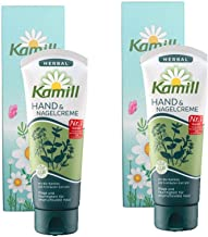 Kamill hand& Nagelcreme Herbal 100ml (Pack of 2) / gift case, Paraben-free, Mineral oil-free, Paraffin-free
