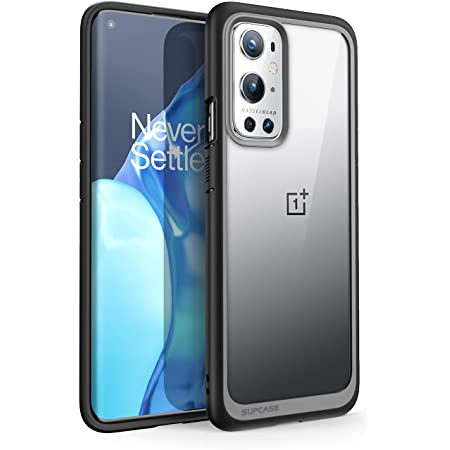 SUPCASE Back Cover For OnePlus 9 Pro ( Poly Carbonate; TPU|Black )