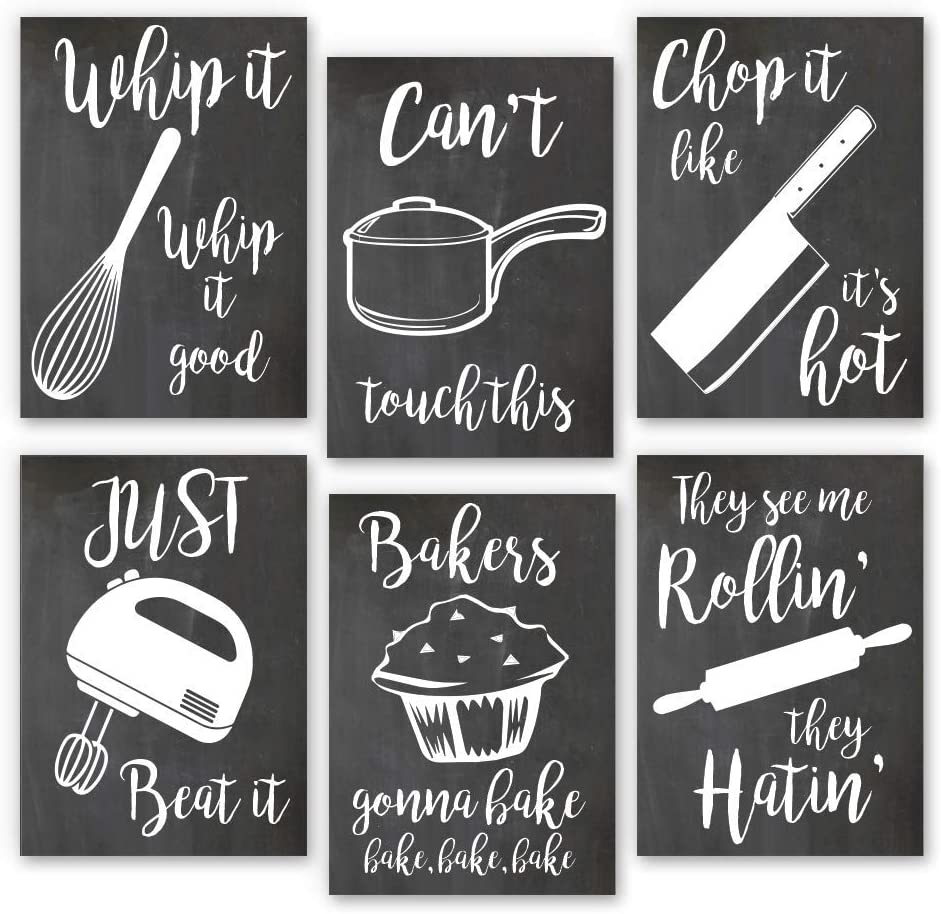 Home Decor Funny Gift 6 Kitchen 4 years warranty Prints Art Sayi Sales for sale Wall Kitchenware