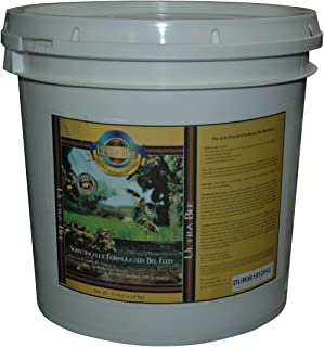 Mann Lake FD210 Ultra Bee Dry Feed Pail, 10-Pound