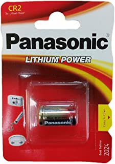 Batterie CR2 3V LITIO PANASONIC CR 2 DLCR2 KCR2 CR17355 LITHIUM PILE
