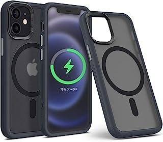 CYRILL Color Brick Hülle Kompatibel mit iPhone 12 Mini integriertem Magneten Case   Graphit