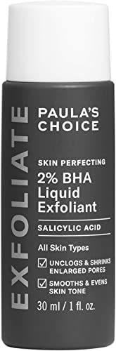 Paula's Choice Skin Perfecting 2% BHA Liquid Salicylic Acid Exfoliant, Gentle Facial Exfoliator for Blackheads, Large...